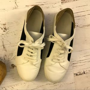 Vince leather and suede sneakers 39.5/9 1/2